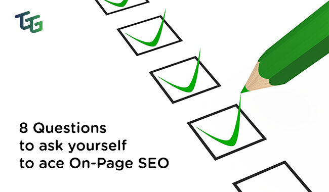 On-Page SEO Checklist - The Go-To Guy!