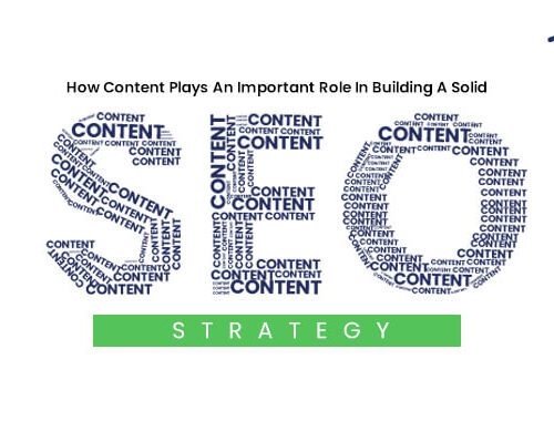 How Content Plays An Important Role In Building A Solid SEO Strategy