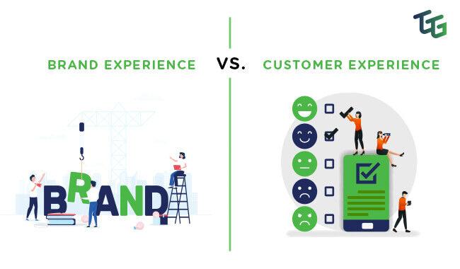 brand experience vs customer experience